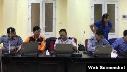 Các cán bộ Việt Nam trong chương trình huấn luyện nâng cao nhận thức các tình huống trên biển do NIWC Pacific thực hiện. Photo US Embassy Vietnam.
