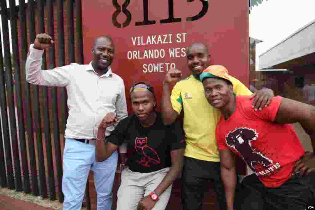افریقی نوجوانوں کا نیلسن منڈیلا کی طرح پرعزم رہنے کا انداز