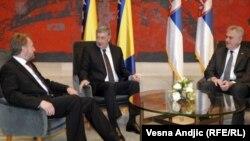 Beograd: Nikolić primio Izetbegovića i Radmanovića