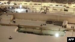 В торговом центре «О'КЕЙ» частично обрушилась крыша. Санкт-Петербург. Россия. 25 января 2011 года