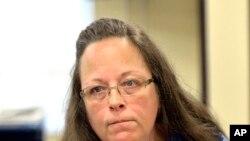 Kim Davis, la greffière qui a refusé d'enregistrer des mariages homosexuels