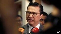 Міністр транспорту Малайзії Ліоу Тіонг Лай