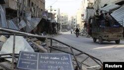 Porušeno predgrađe Damaska, Duma