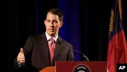 Thống đốc bang Wisconsin Scott Walker.