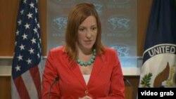Juru bicara Departemen Luar Negeri Amerika Jen Psaki hari Senin (8/7) menjelaskan tujuan pertemuan AS-China untuk membahas sengketa dunia maya (foto: dok).