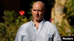 'New York Times' reporter Matthew Rosenberg, 40, speaks during an interview in Kabul, Aug. 20, 2014.