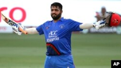 UAE Asia Cup Cricket Shahzad century