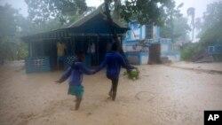 Hurricane Matthew Makes Landfall in Haiti