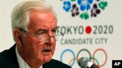 Kepala Badan Anti-Doping Dunia (WADA) Craig Reedie menunjuk pejabat Inggris memimpin pengamat anti-doping di Olimpiade Sochi (foto: dok).