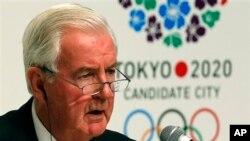 Craig Reedie, Wakil presiden IOC dari Inggris, terpilih sebagai presiden World Anti-Doping Agency - WADA (foto:dok).
