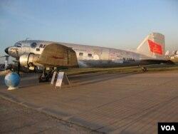 道格拉斯DC-3/C-47从美国飞抵莫斯科参加航展。