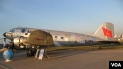 道格拉斯DC-3/C-47從美國飛抵莫斯科參加航展