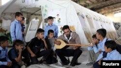 Le camp de réfugiés d'Arbat, province septentrionale de Sulaymaniyah. (REUTERS/Yahya Ahmad)