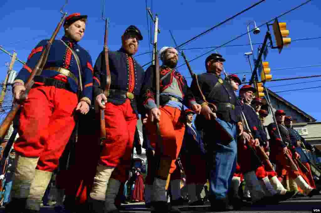 Колонна «огненных зуавов» – нью-йоркский полк