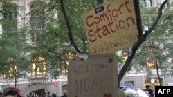 New York'ta Wall Street'i İşgal Hareketi Devam Ediyor