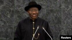 Shugaba Goodluck Jonathan na Najeriya