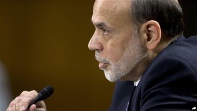 Ben Bernanke compareció ante el Comité de la Banca del Senado.
