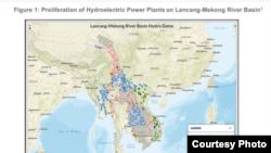 Sự nở rộ các nhà máy thủy điện trên lưu vực sông Lan Thương - Mekong.