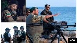 """خبرگزاری فارس محمد ناظری را """"از جمله فرماندهان حاضر در عملیات دستگیری متجاوزان آمریکایی و انگلیسی"""" معرفی کرده است."""