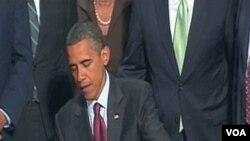 Predsjednik Obama potpisuje zakon kojim se unose istorijske promjene u američki financijski sistem