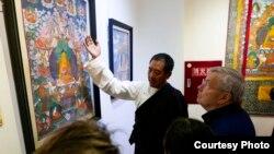 美国驻华大使布兰斯塔德访问西藏