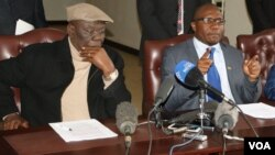 Tsvangirai loMnu. Jacob Ngarivhume webandla le Transform Zimbabwe.