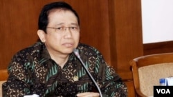 Ketua DPR RI Marzuki Alie (foto: koleksi pribadi).