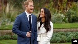 Britanski princ Hari sa verenicom, glumicom Megan Markl