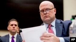 Vršilac dužnosti sekretara za pravosuđe Metju Vitaker tokom pretresa na Kapitol hilu (Foto: AP/Andrew Harnik)