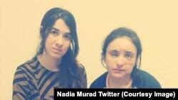 این دو بانوی ایزدی موفق به فرار از چنگ داعش شدند و اکنون به دفاع از حقوق بشر و زنان ایزدی مبارزه میکنند