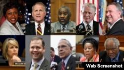 Десять членов Конгресса США, участники конференции в Баку 2013г.