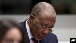 Cựu tổng thống Charles Taylor bị tòa án này tuyên án 50 năm tù vì tội ác chiến tranh và tội ác chống nhân loại