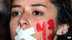 En su mayoría los manifestantes son estudiantes de diversas universidades.