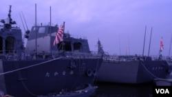 日本准备建造袖珍型护卫舰来取代部分现役护卫舰,投入东中国海防卫(美国之音歌篮拍摄)