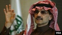 Pangeran Alwaleed bin Talal mendukung perempuan mengemudi, untuk mengurangi jumlah pekerja asing di Saudi yang jumlahnya lebih dari 500 ribu orang (foto: dok).