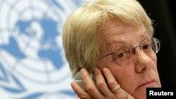 کارلا دل پونته، عضو کمیسیون تحقیق سازمان ملل