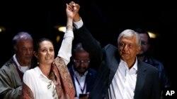 Claudia Sheinbaum fue elegida por voto directo el pasado domingo 1 de julio como candidata del movimiento que lidera el veterano izquierdista Andrés Manuel López Obrador.