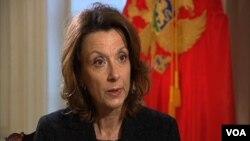 Ministarka odbrane Crne Gore Milica Pejanović-Djurišić