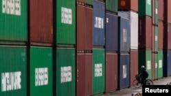 20일 일본 도쿄항의 모습. 일본 재무성에 따르면 지난달 무역수지가 34년만에 최대 적자였다.