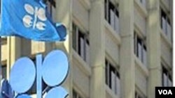 Kantor pusat OPEC di Wina, Austria. Negara-negara OPEC memproduksi 40 persen minyak dunia.