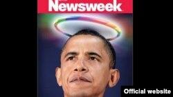 """Portada de la revista Newsweek con el título """"El primer presidente homosexual"""". La revista publicó su último número."""
