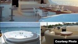 Interior kapal yacht Azimut (Courtesy: PT Sheila Holiday).
