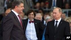 Los presidentes de Ucrania, Petro Poroshenko, y de Rusia, Vladimir Putin, se reúnen nuevamente esta vez en Bielorrusia.