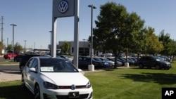 미국 콜로라도주 보울러 시의 폴크스바겐 자동차 매장. (자료사진)