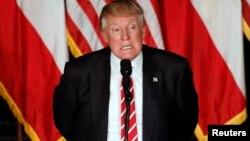 Donald Trump desafió al liderazgo republicano llamándolo a respaldarlo o callarse