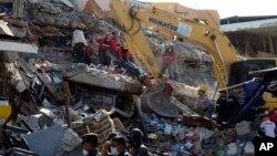 Ruševine u gradu Manta, u Ekvadoru