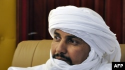 Alghabass Ag Intalla, numéro deux du mouvement Ansar Dine en novembre 2012 et frère de l'Amenokal Mohammed Ag Intalla.