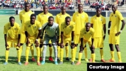 Zimbabwe Warriors preparing for the 2016 African Nations Championship.