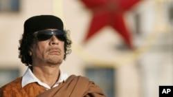 리비아를 42년간 철권통치했던 무아마르 가다피.