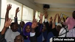 Wabunge wakiwa bungeni Somalia